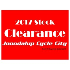 2017 Stock Clearance - While stocks last!!