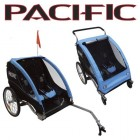 Trailer Deluxe 2 In 1 Trailer/Stroller - 2 Child