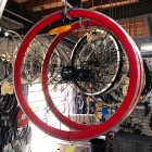 Fixie/SS Front & Rear 700C Wheels RED